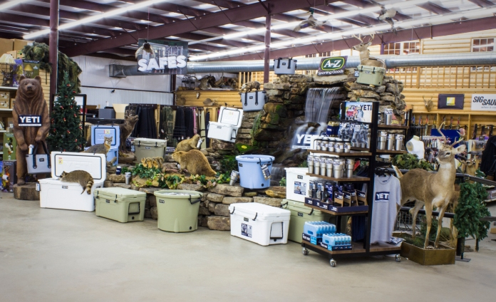 Yeti Coolers at AtoZ Outdoors - Alma, AR